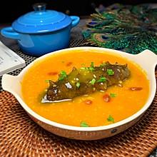 金汤海参小米粥
