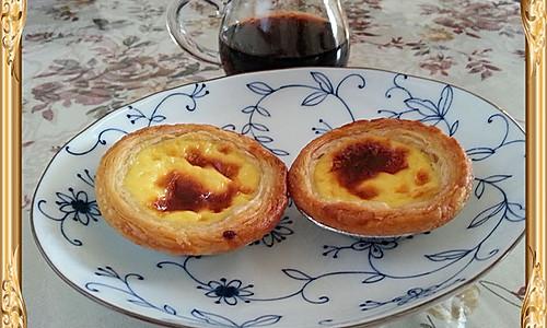 快手午茶——浓香蛋挞的做法