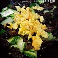 夏日小菜:黄瓜木耳炒鸡蛋的做法图解11