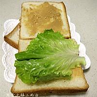 煎蛋火腿三明治的做法图解7