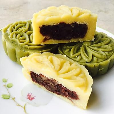 清凉一夏绿豆糕