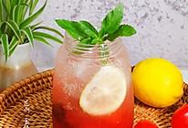 #夏日消暑,非它莫属#话梅番茄气泡饮的做法