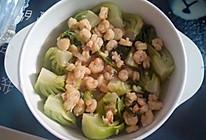 虾仁扒油菜(虾仁上海青)的做法