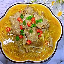 酸辣开胃的金汤肥牛卷~好吃到汤汁都不剩