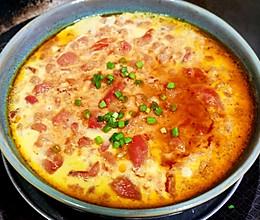 锦娘制——番茄蒸鸡蛋羹的做法
