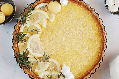 法式甜品 清香柠檬派~做法简单酸甜不腻