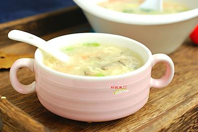 鲜香六菌汤