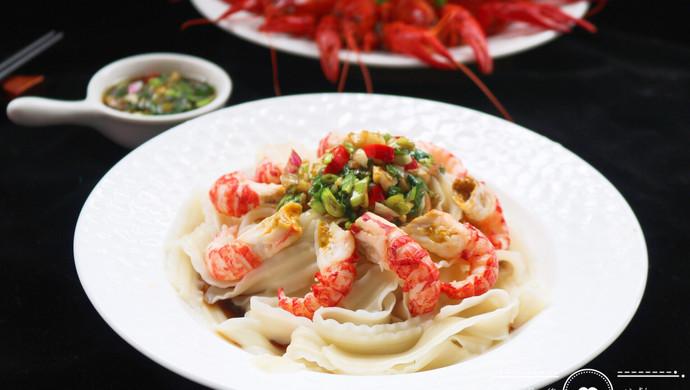 #父亲节,给老爸做道菜#小龙虾凉拌面