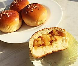 焦糖苹果面包   冬天补充能量的做法
