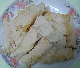 百叶包肉的做法