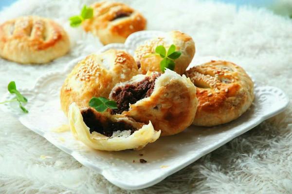 李孃孃爱厨房之—— 红豆沙老婆饼