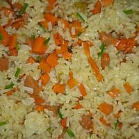 胡萝卜炒饭