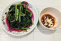 蘸水红苋菜的做法