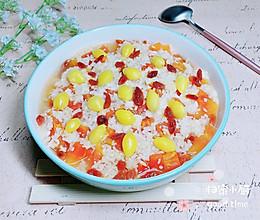 白果酒酿蒸木瓜 | 丰胸养颜的做法
