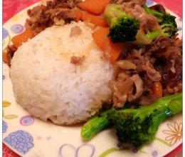 吉野家牛肉饭(家庭自制)的做法