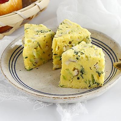 ★鳕鱼豆腐蔬菜蒸糕★