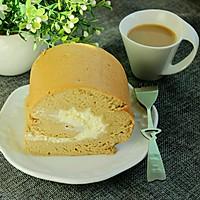 咖啡奶油蛋糕卷#美的FUN烤箱·焙有FUN儿#