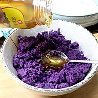 """茄汁紫薯球#""""宴""""遇灵山,拈花品素#的做法图解3"""