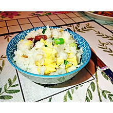 清淡腊肠什锦饭