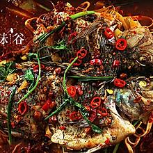 夜宵美食——万州烤鱼
