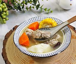 玉米胡萝卜山药排骨汤#硬核家常菜#的做法