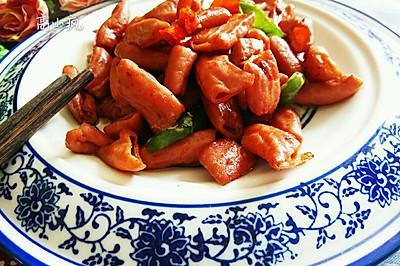 辣椒炒小肠