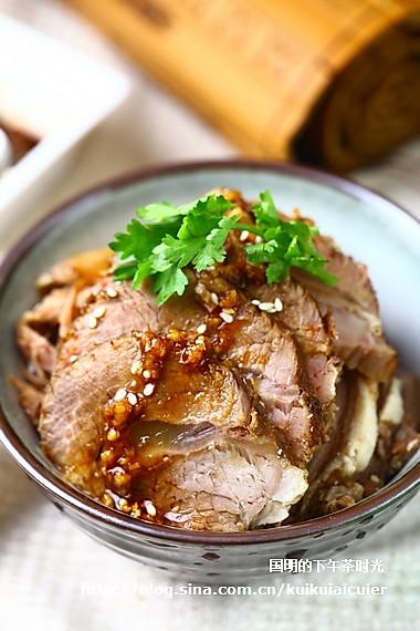 简易高压锅版酱牛肉的做法