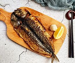 #美食视频挑战赛#还原《深夜食堂》第七话の烤青花鱼干的做法