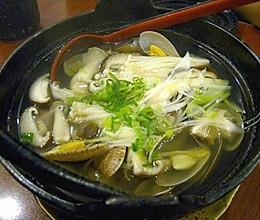 日式花甲汤的做法