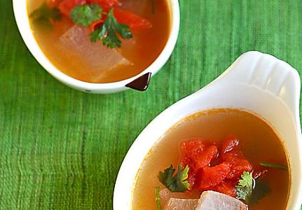 开胃番茄冬瓜汤的做法