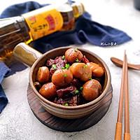 栗子烧肉#金龙鱼外婆乡小榨菜籽油  我要上春碗#