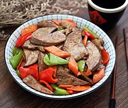 #秋天怎么吃#爆炒猪肝的做法