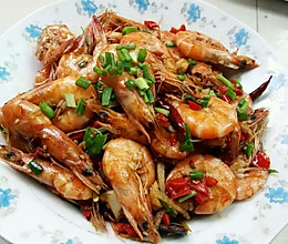 香辣基尾虾的做法