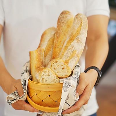 创意面包 酸奶种法棍,发酵的美味