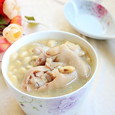 黄豆猪手汤