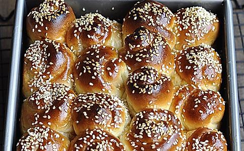 蜂蜜面包--韩国烤馒头的做法