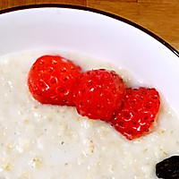 kitty牛奶燕麦粥#急速早餐#的做法图解2