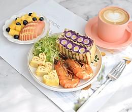 #换着花样吃早餐#我的营养早餐的做法