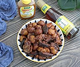 #太太乐鲜鸡汁芝麻香油#板栗烧鸡+太太乐鲜鸡汁芝麻香油的做法