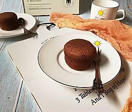 #晒出你的团圆大餐#可可小蛋糕的做法