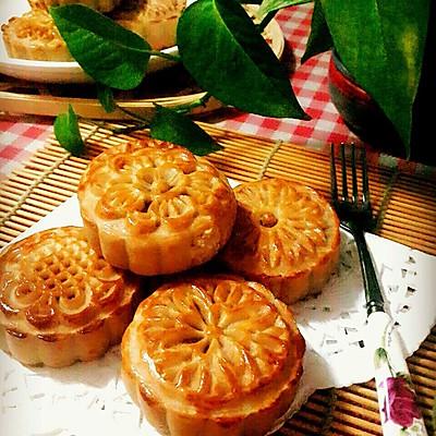 广式月饼 (蜂蜜版)