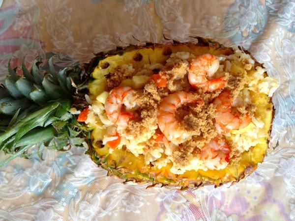 正宗泰式菠萝炒饭的做法