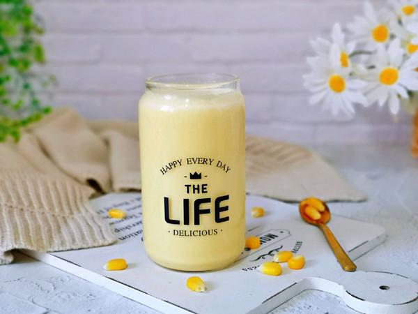 冬季热饮~奶香玉米汁的做法
