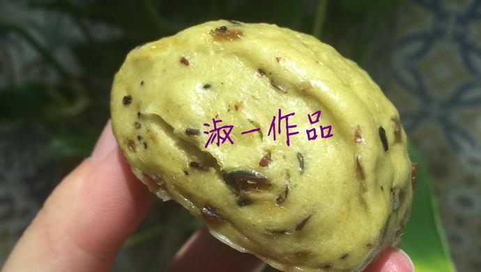 菠菜红枣养生小馒头