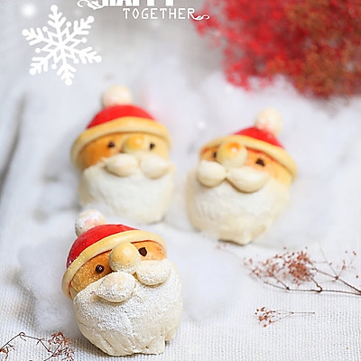 圣诞老人巧克力餐包