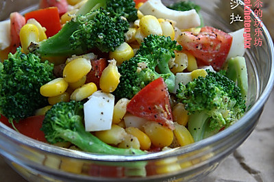 橄榄油蔬菜沙拉