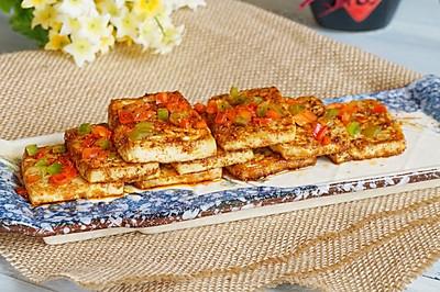 麻辣香烤豆腐