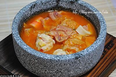 石锅鱼丸泡菜汤