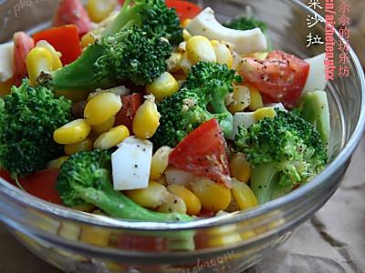 橄榄油蔬菜沙拉的做法