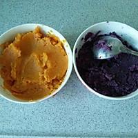 自制手工芋圆(紫薯红薯芋圆)的做法图解2